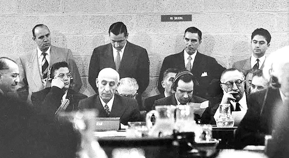 مصدق در شورای امنیت