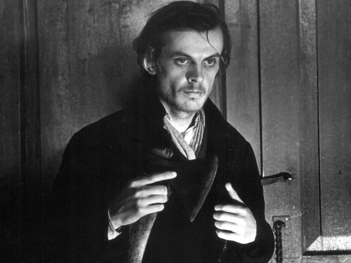 راسکولنیکف در سریال جنایت و مکافات محصول سال 1970