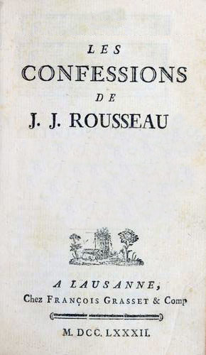 اعترافات ژان ژاک روسو