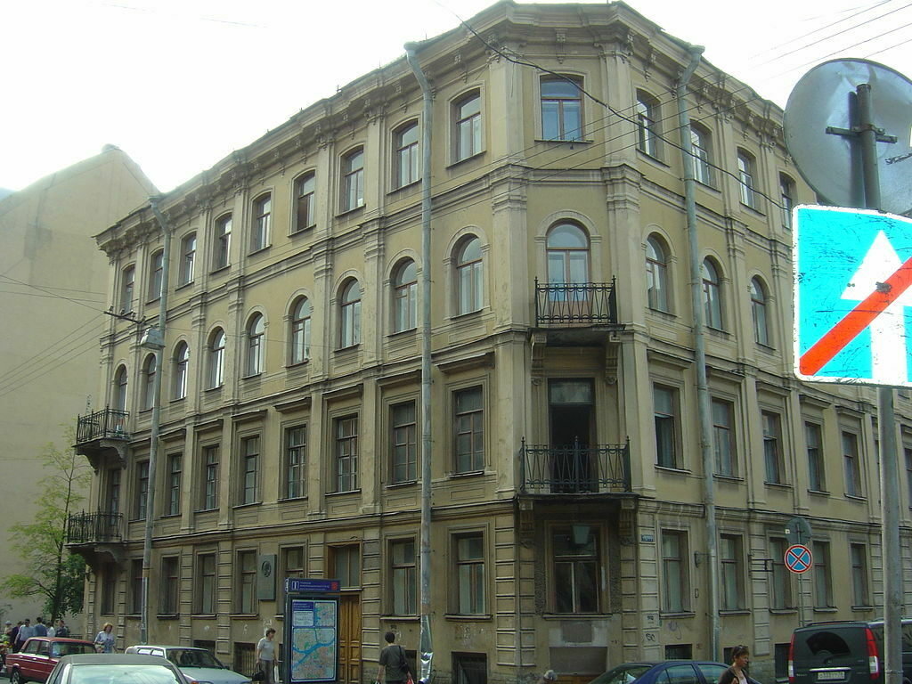 خانه داستایفسکی در سنتپترزبورگ